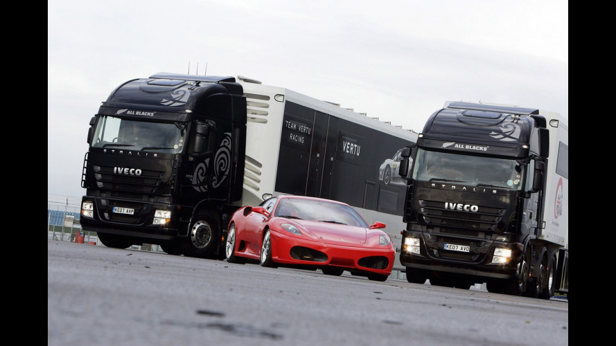Gli Iveco-Ferrari inglesi