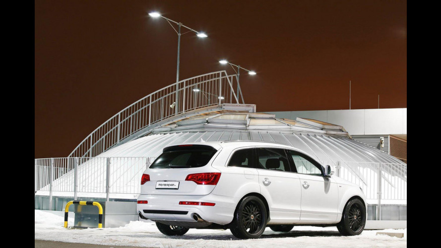 Audi Q7 4.2 TDI secondo MR Car Design