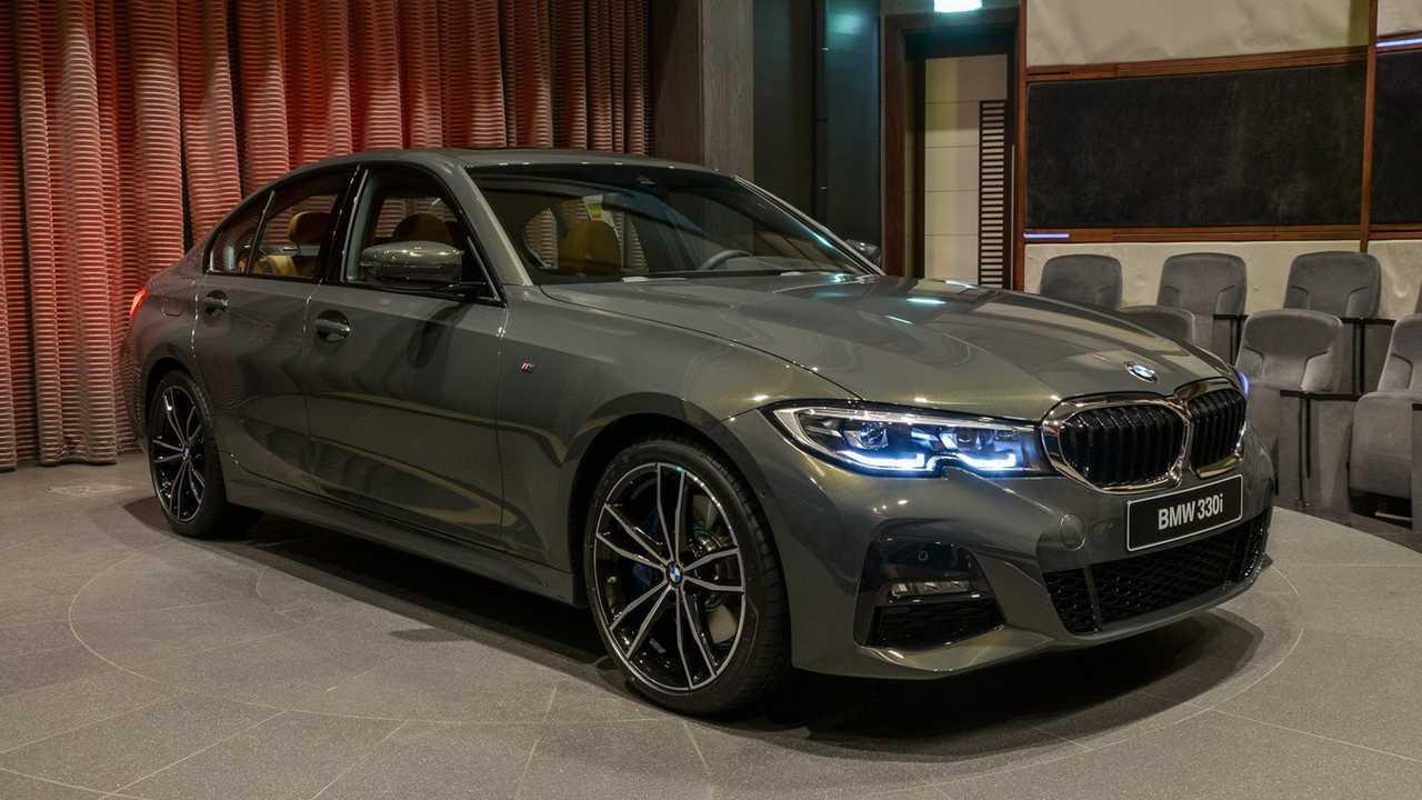 2019 BMW 3 Serisi Sedan Dravite Gray Metallic