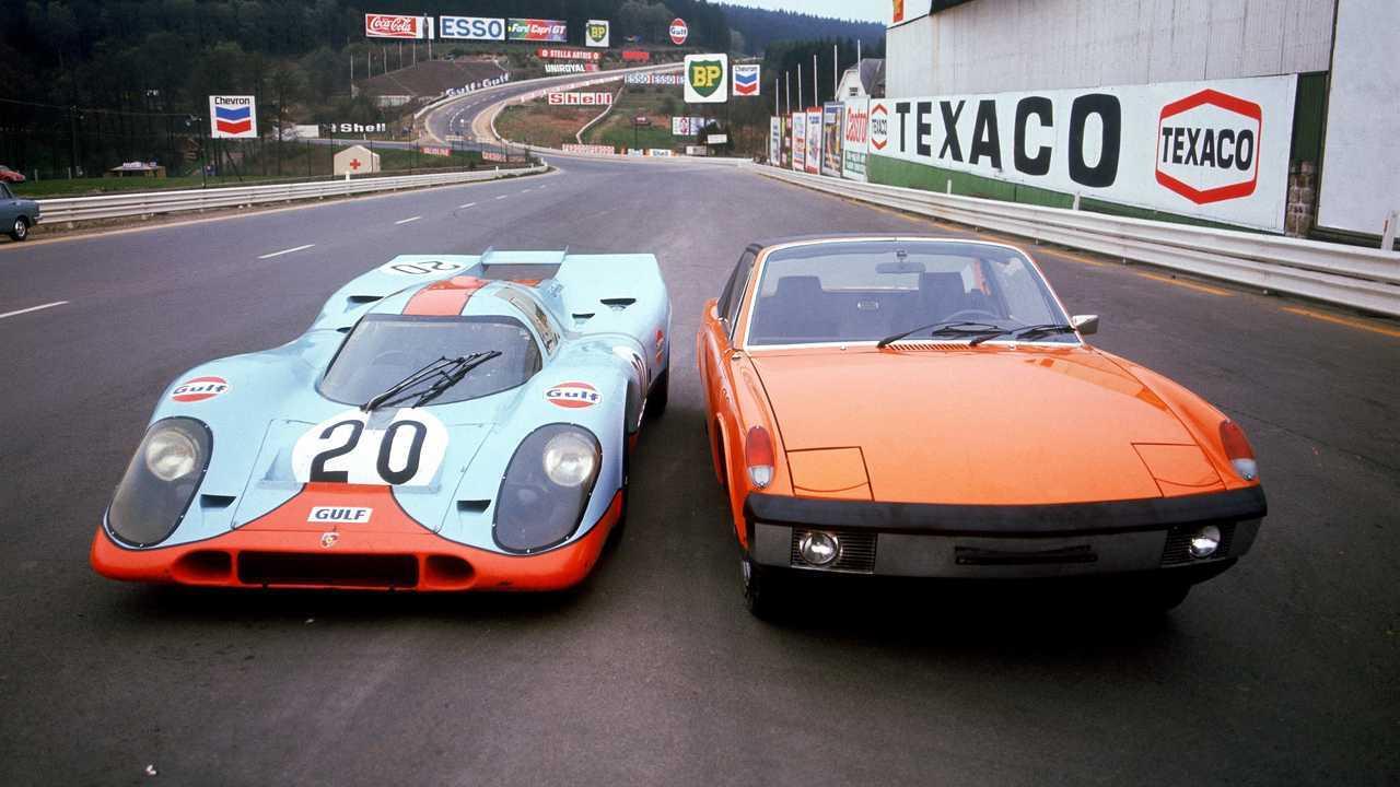 Porsche 914 und 917