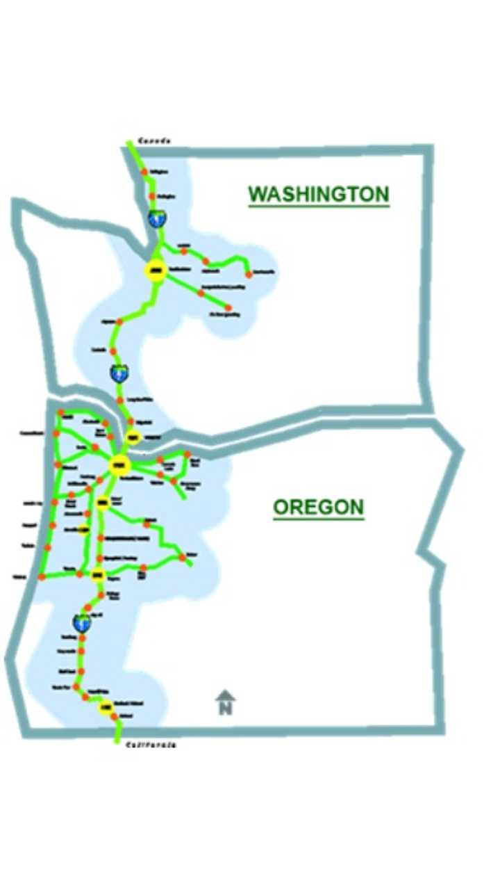 West Coast Electric Highway Expanded In Washington Summer Of 2012