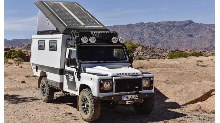 Land Rover Defender, camperizado por Matzker