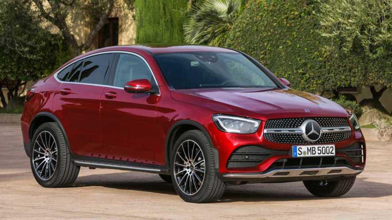 Mercedes GLC Coupé restyling,