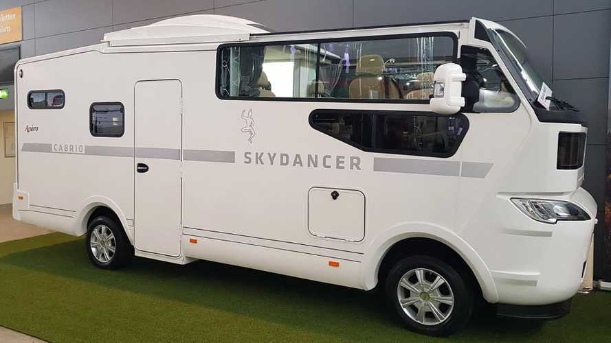 This is the world's first motorhome with a convertible top
