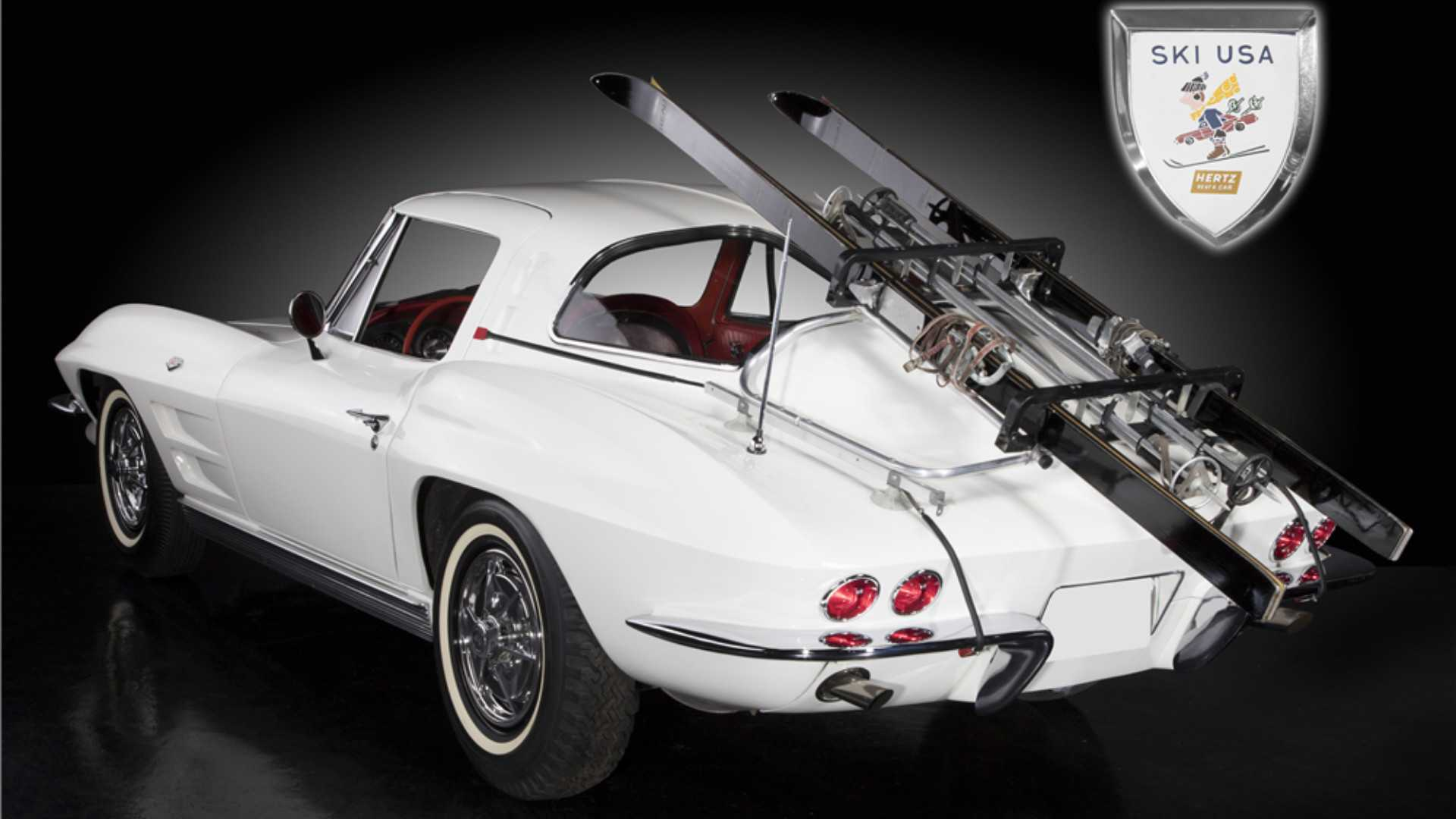 "[""1963 Corvette Ski Car Owned by Hertz Finds New Home""]"