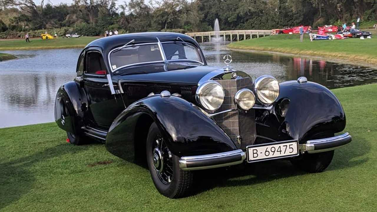 1938 Mercedes-Benz 540k motorway courier