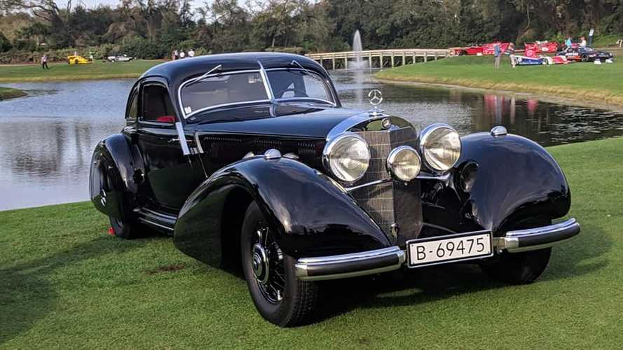 Unique 1938 Mercedes-Benz 540K Wins Amelia Island Best In Show
