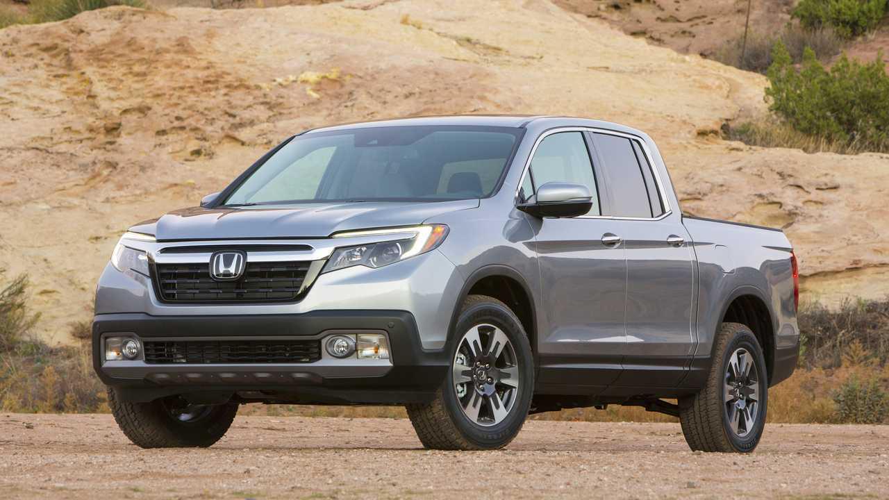 8. Honda Ridgeline