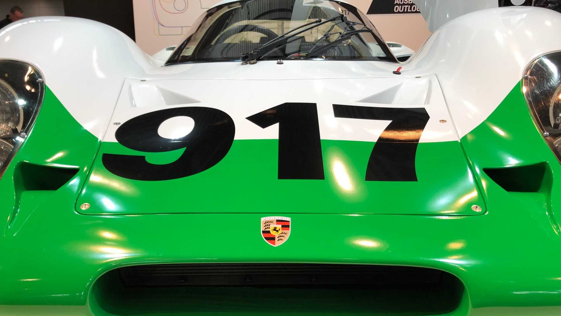 """[""""Porsche 917 No.1 Restored""""]"""