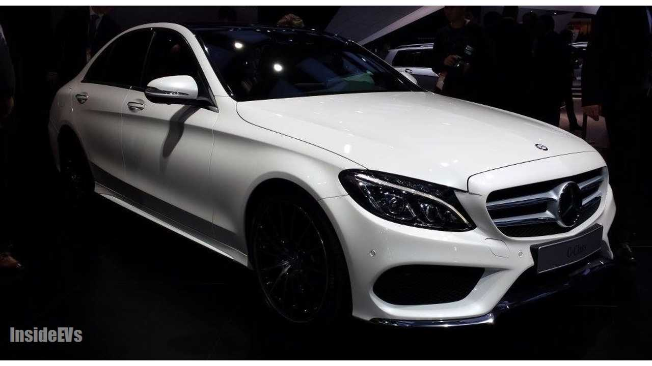 c-class electric NAIAS 7