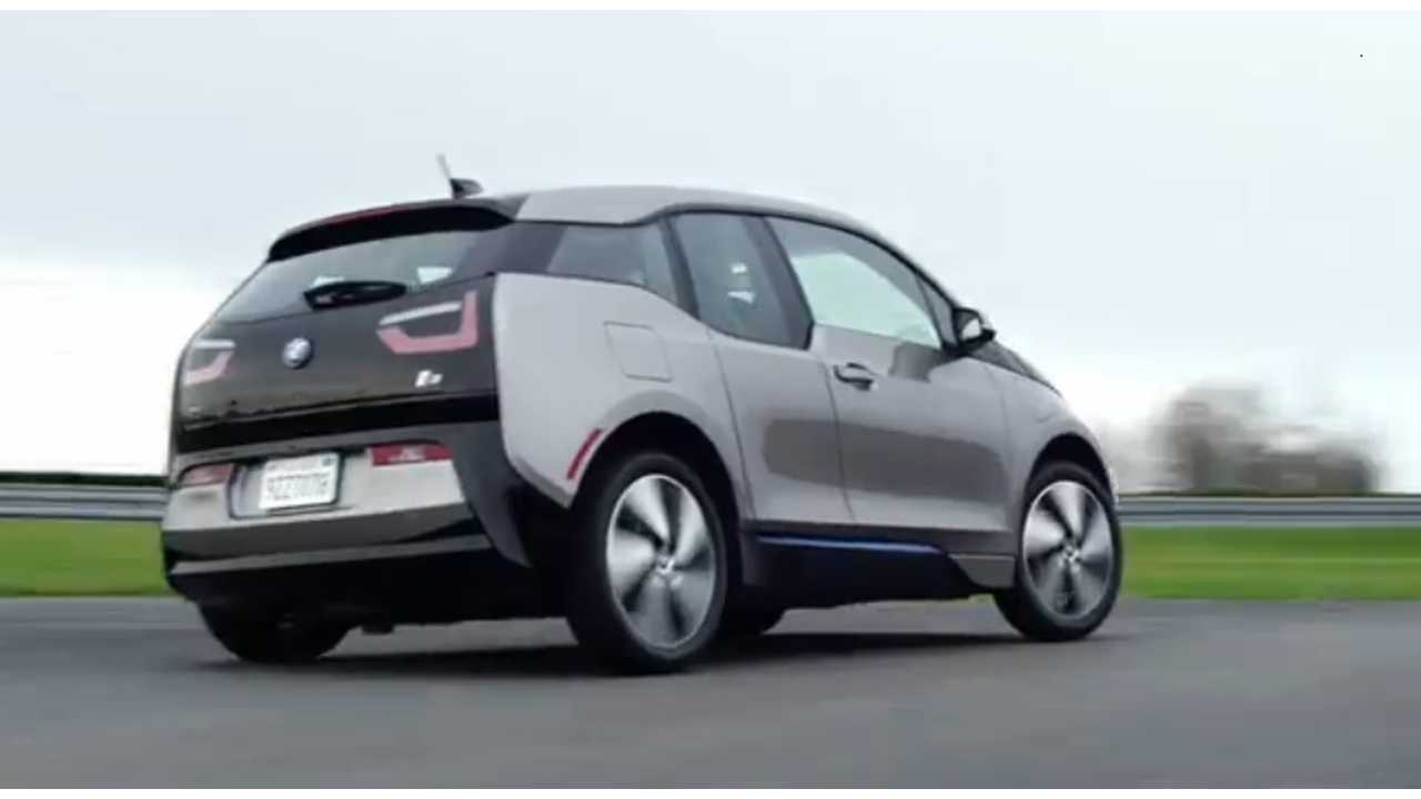 BMW i3 Takes Its First