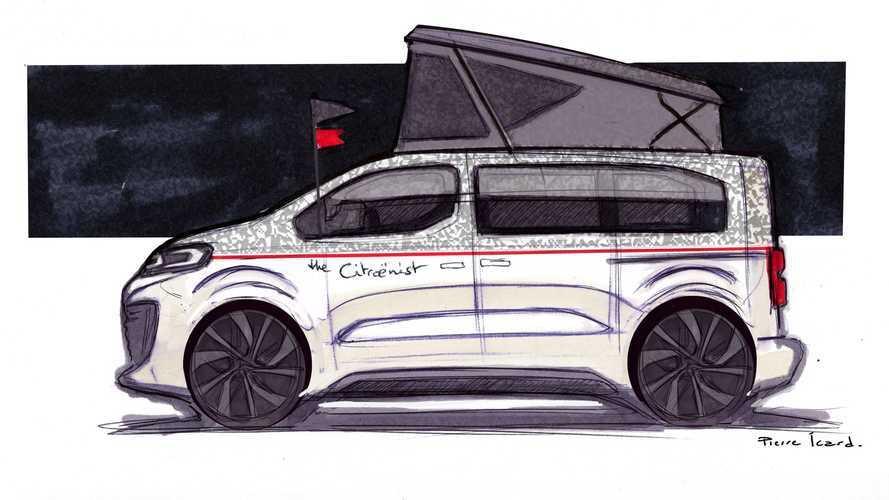 Citroën a développé un nouveau concept sur base de SpaceTourer