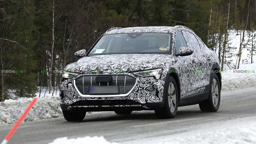 Audi e-tron Sportback (2020) erwischt