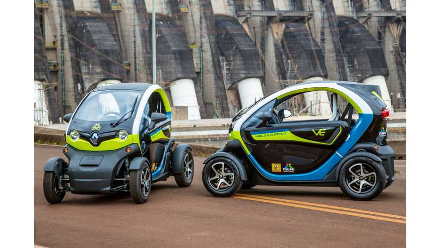 Renault Twizy to Become First Electric Assembled in Brazil