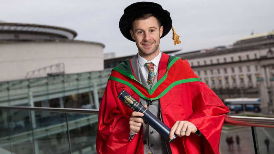Jonathan Rea Receives Honorary Doctorate