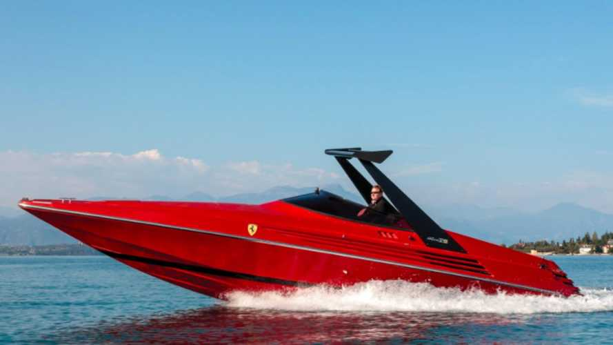Remember That Time Ferrari Made A Twin-V8 Speedboat?