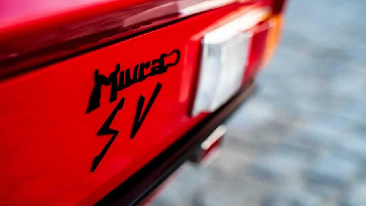 Lamborghini Miura SV Jean Todt
