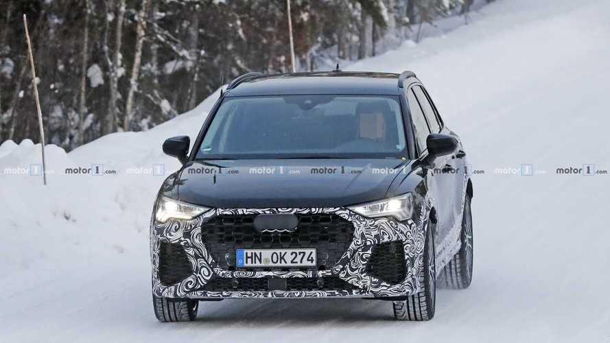 Audi RS Q3 2020 - Novos flagras