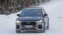 2020 Audi RS Q3 new spy photos