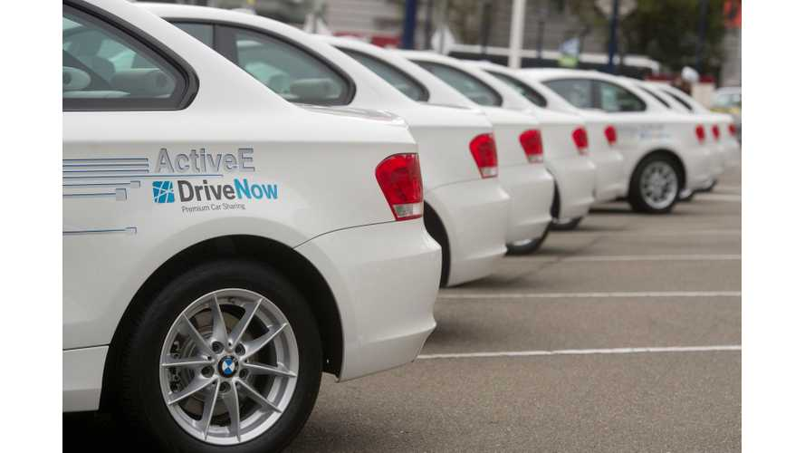 BMW ActiveE in DriveNow Car Sharing in San Francisco (Videos)