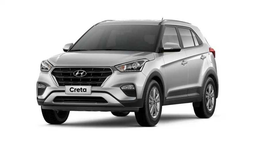 Hyundai Creta exportado para Colômbia