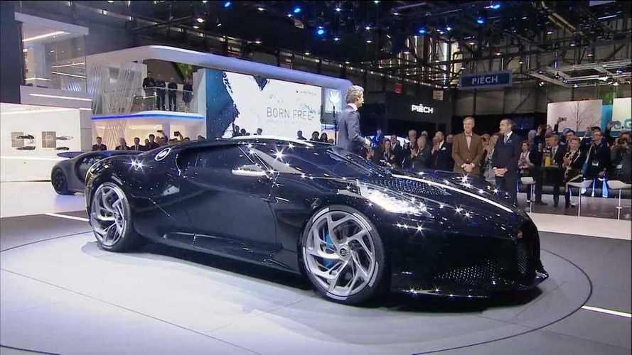 Bugatti La Voiture Noire debütiert in Genf: Teuerster Neuwagen aller Zeiten