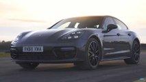 Porsche Panamera E-Hybrid Drag Race