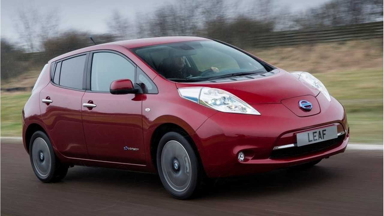 Undetermined Amount of 2013 Nissan LEAFs Recalled Over Air Bag Related Defect