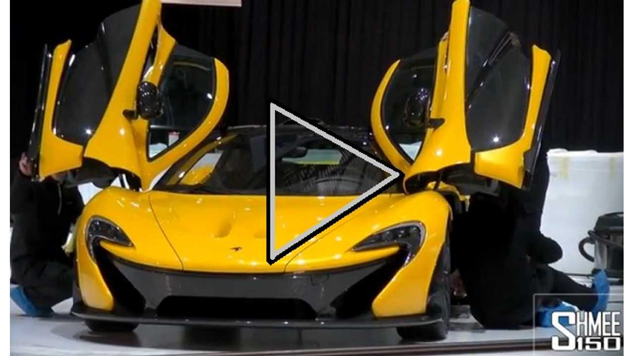 Video: McLaren P1 Caught on Stage in Geneva Ahead of Official Reveal