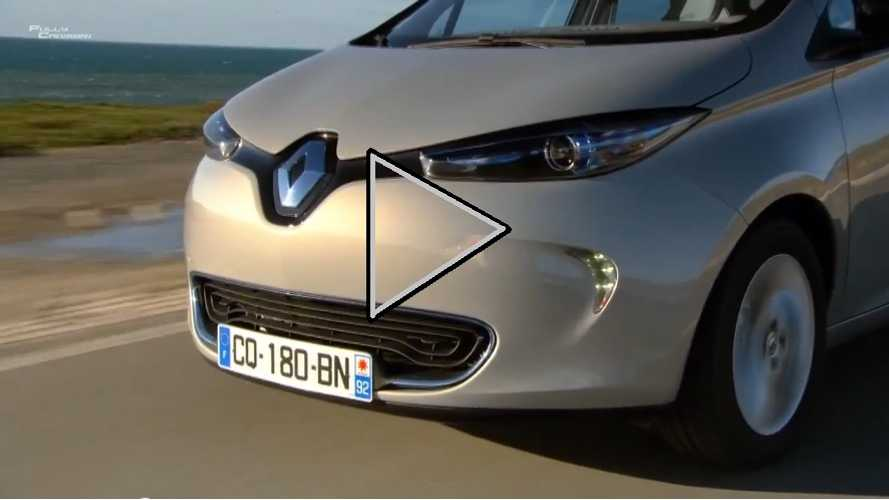 Video: Robert Llewellyn Takes The Renault Zoe On An Extended Test Drive