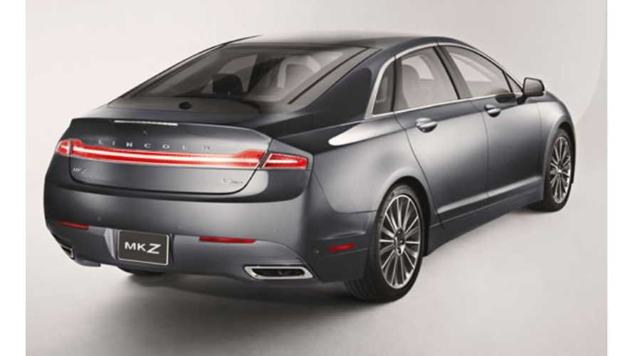 Strong Fusion Energi Sales (Or Not) Will Power The Lincoln MKZ Plug-In