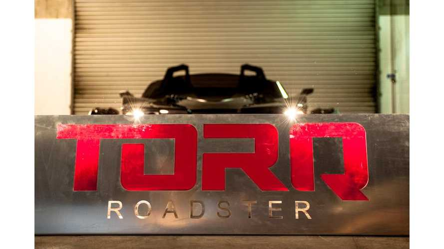TORQ Roadster Launches April 6th, Think Aptera...But Cooler