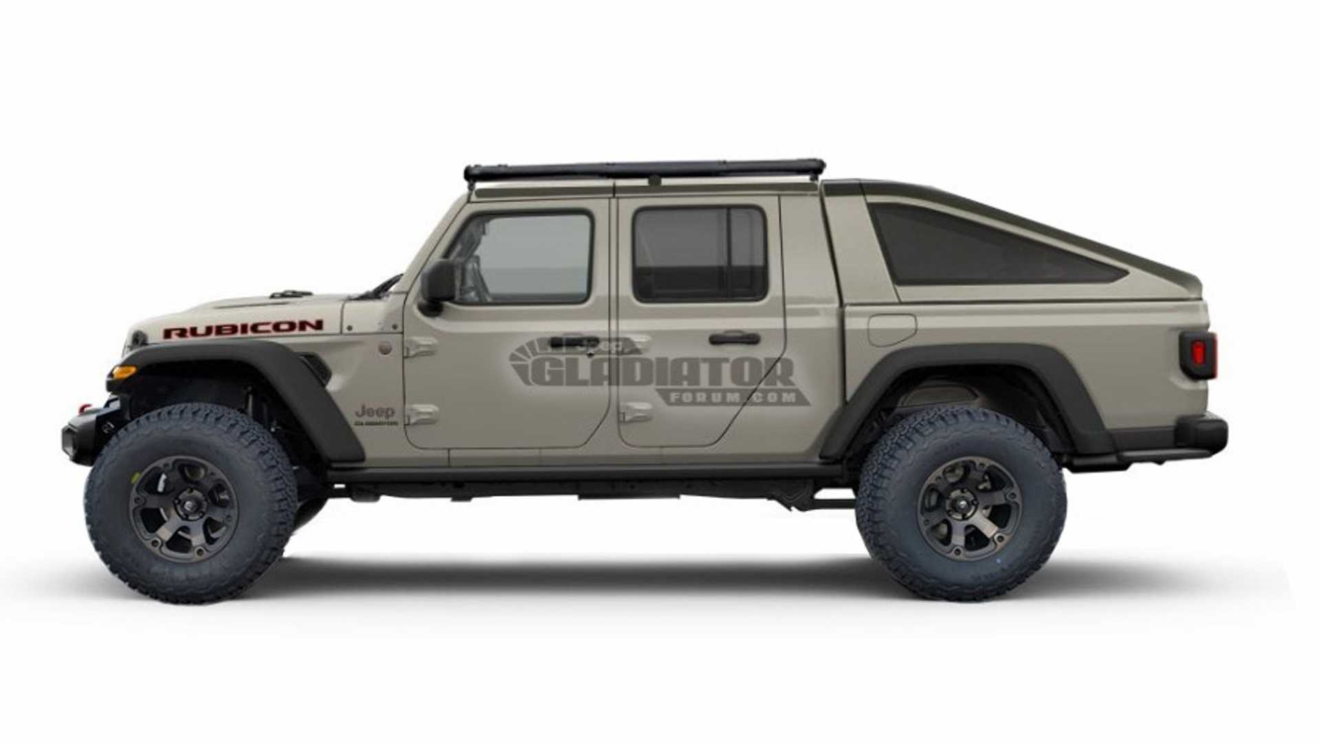 Jeep Gladiator Bed Frame