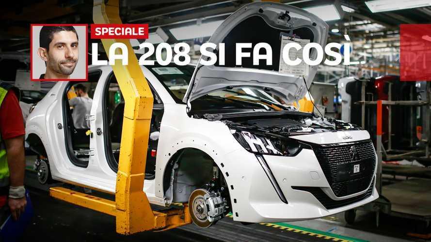 Peugeot 208, vediamola in fabbrica sulla linea di montaggio