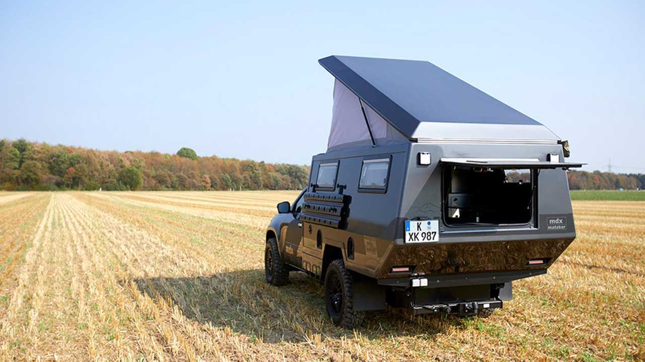 Mercedes-Benz X-Class Matzker Camper