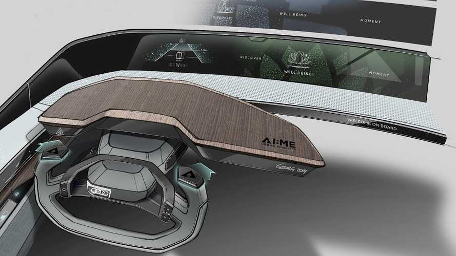 Audi AI:me concept (2019) Teaser