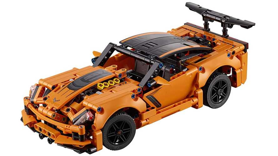 Own a Corvette ZR1 for only £36, but you have to build it