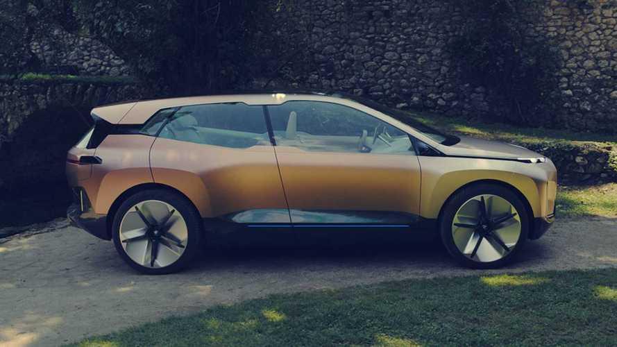 El BMW iNext de producción, cazado en la nieve