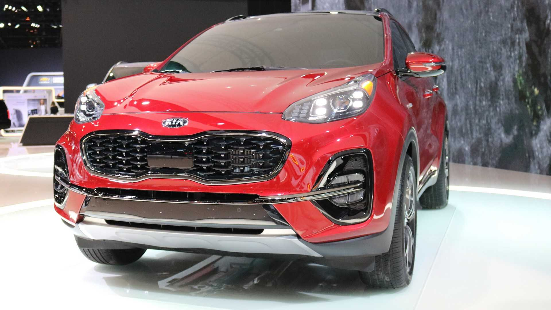 2020 Kia Sportage Debuts In Chicago With Fresh Face, More Tech