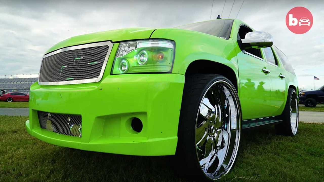 Chevy Suburban LED Light Show