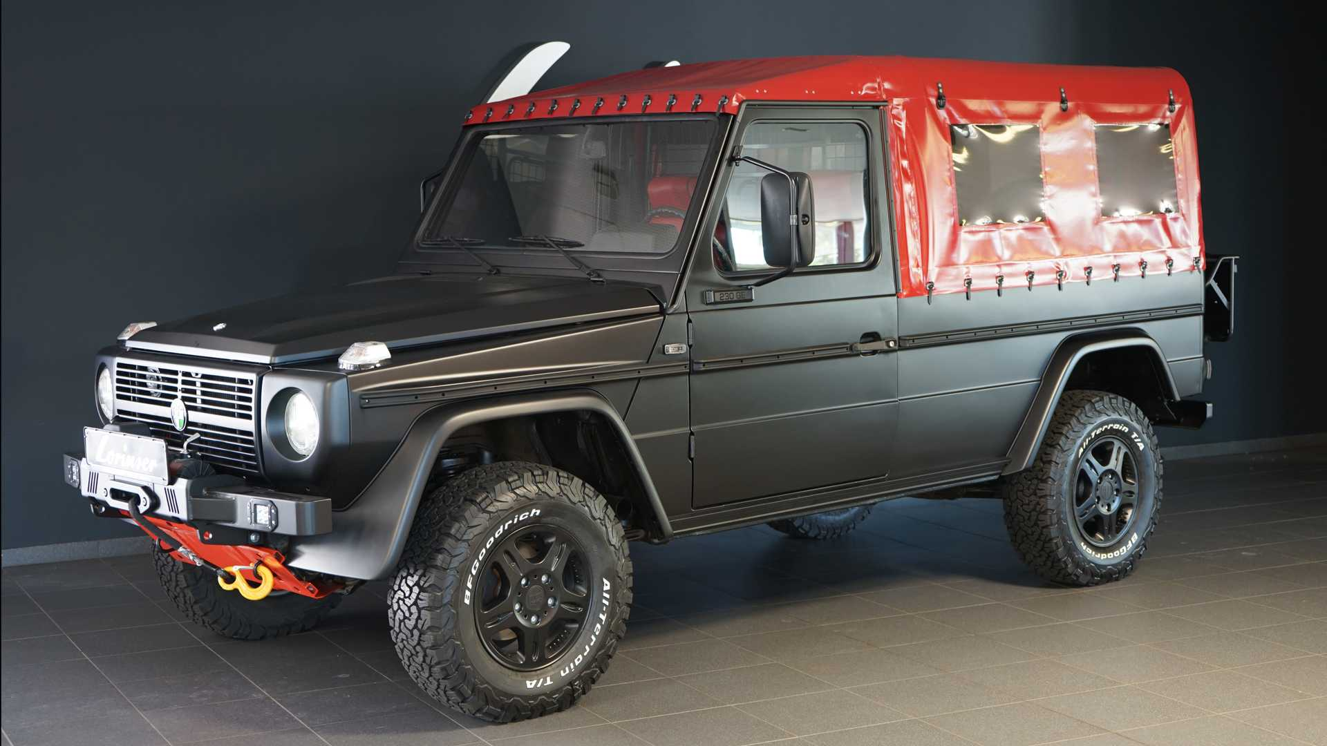 Old Mercedes G Class Is Now Off Road Restomod From Lorinser