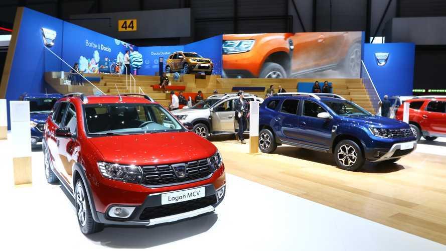 Les Dacia série limitée Techroad en direct de Genève !