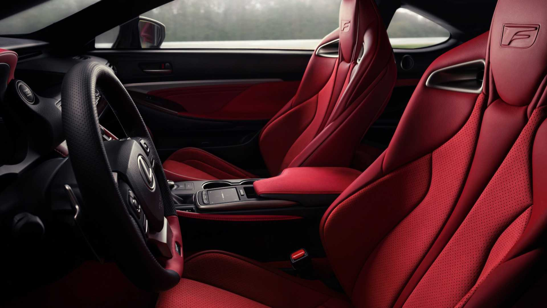 Lexus RC Facelift (2018) 50