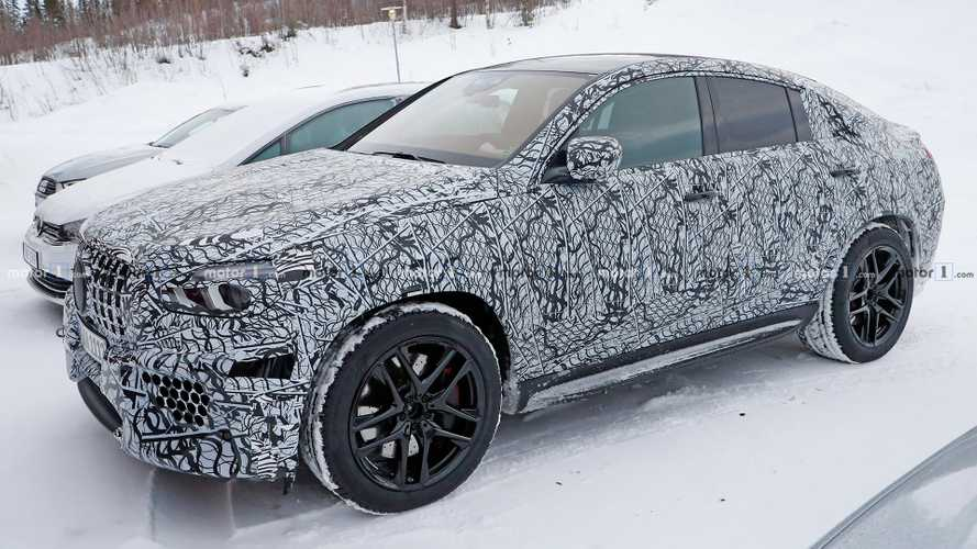 Mercedes-AMG GLE 63 Coupe Spied During Winter Testing