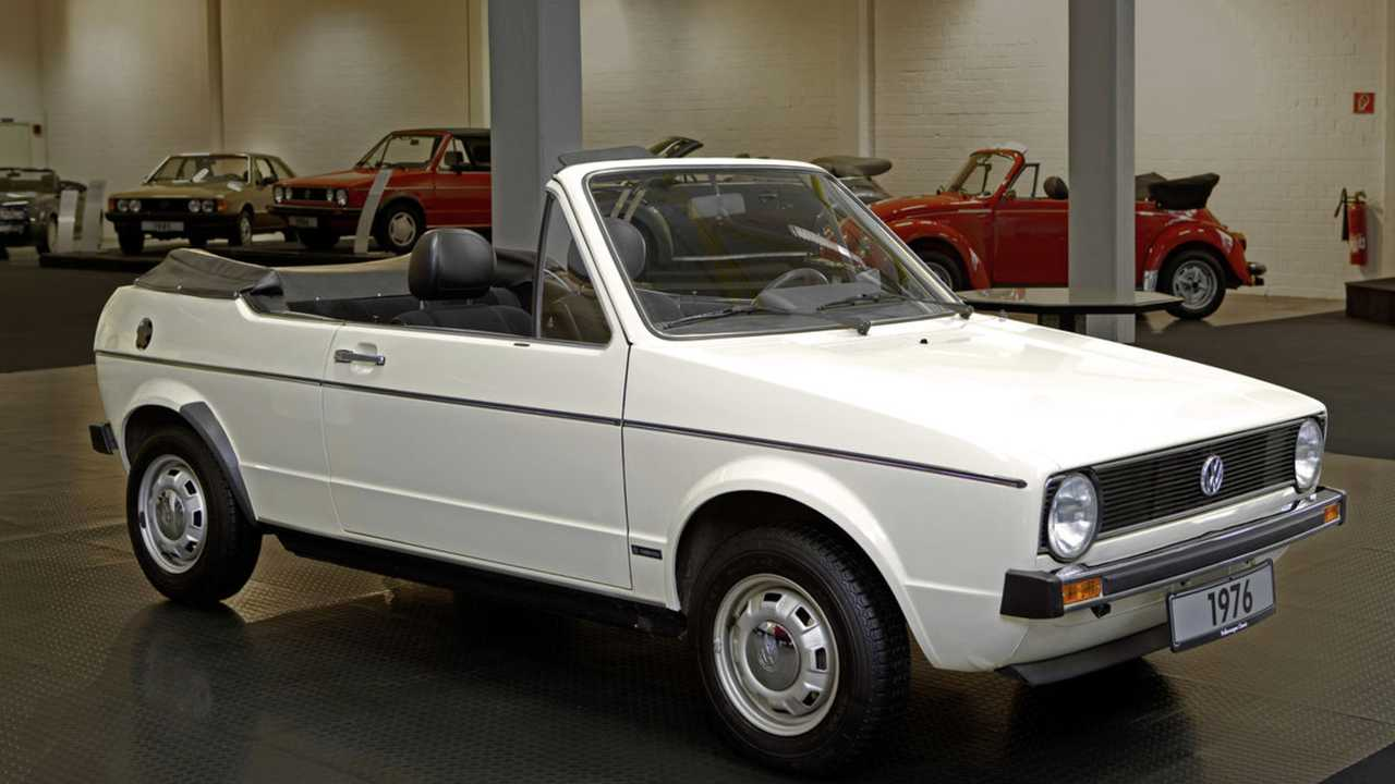 40 years of VW Cabriolets