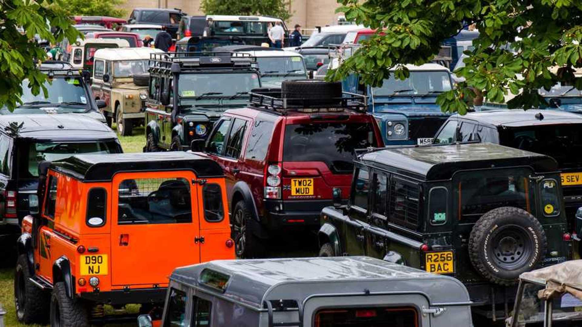 """[""""Simply Land Rover Beaulieu Motor Museum""""]"""