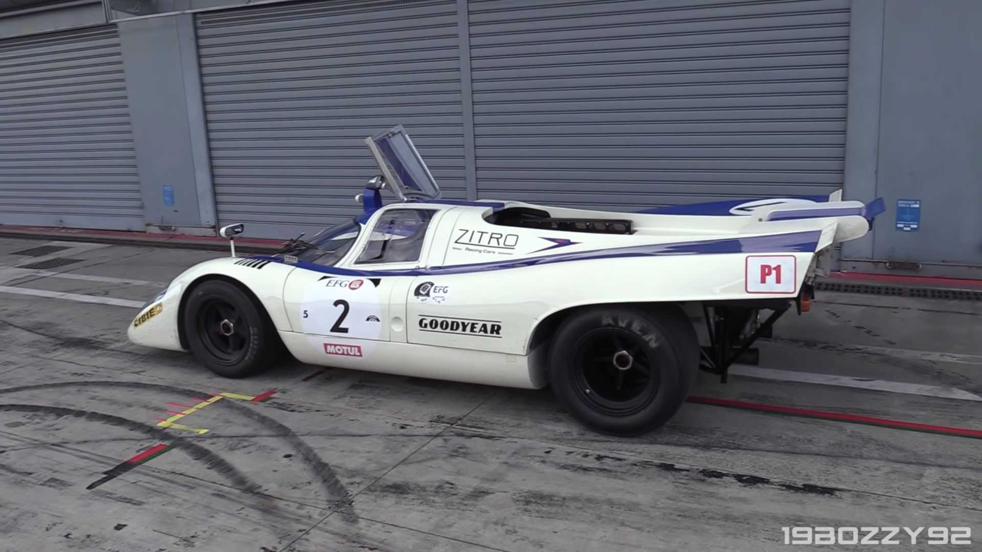 "[""1970 Porsche 917 chassis 25th""]"