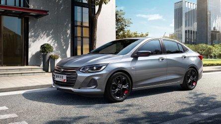 Novo Chevrolet Prisma é revelado na China como Onix