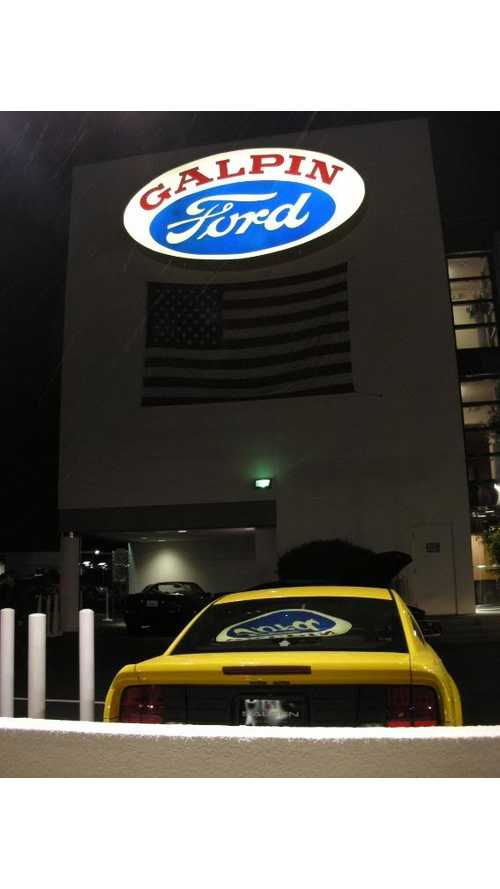 Galpin Ford in CA Showing Focus Electric in Stock