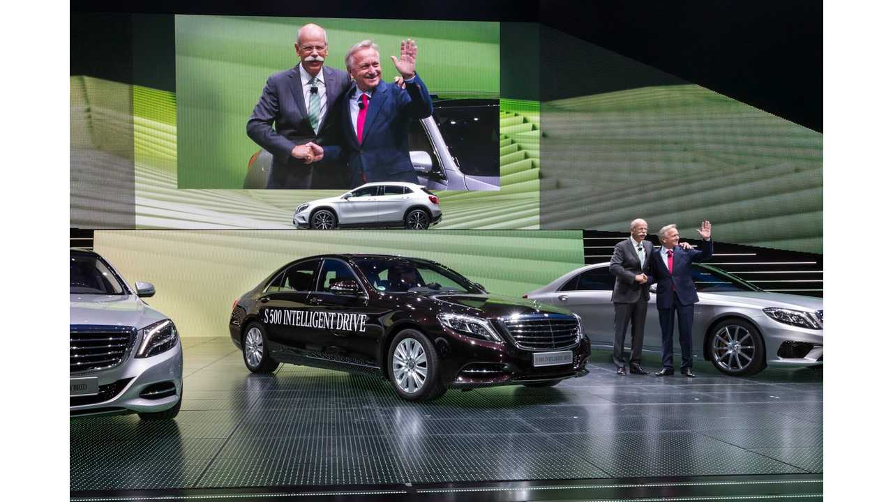 S500 PHEV on the Stage